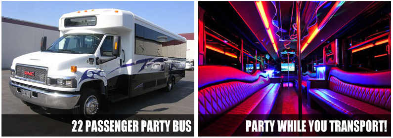Airport Transportation Party Bus Rentals Columbus