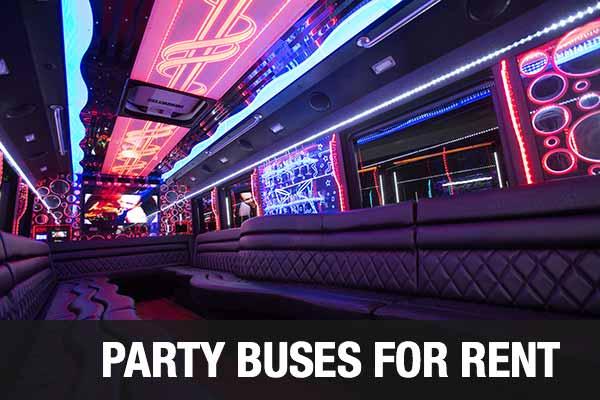 Wedding Transportation Party Bus Columbus
