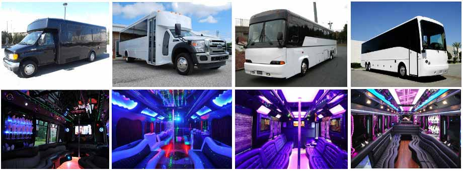Wedding Transportation Party Buses Columbus