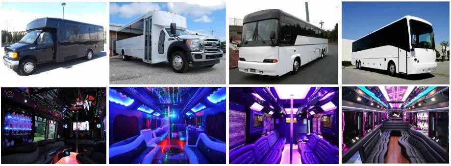 Wedding Transportation Party Buses Columbus